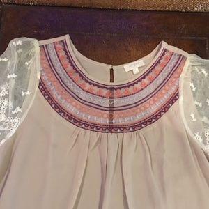 Umgee Tops - Umgee Lace Embellished Tunic